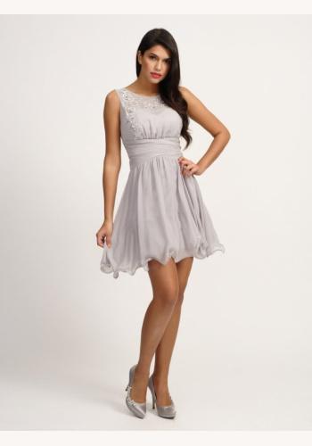 Fialové mini šaty bez rukávov 127 4df41ced2d9