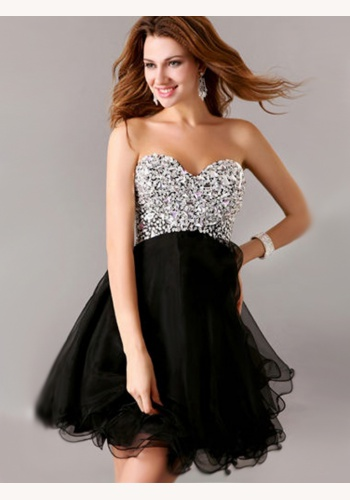 b09cebaec1f Čierne mini korzetové šaty s kamienkami 175