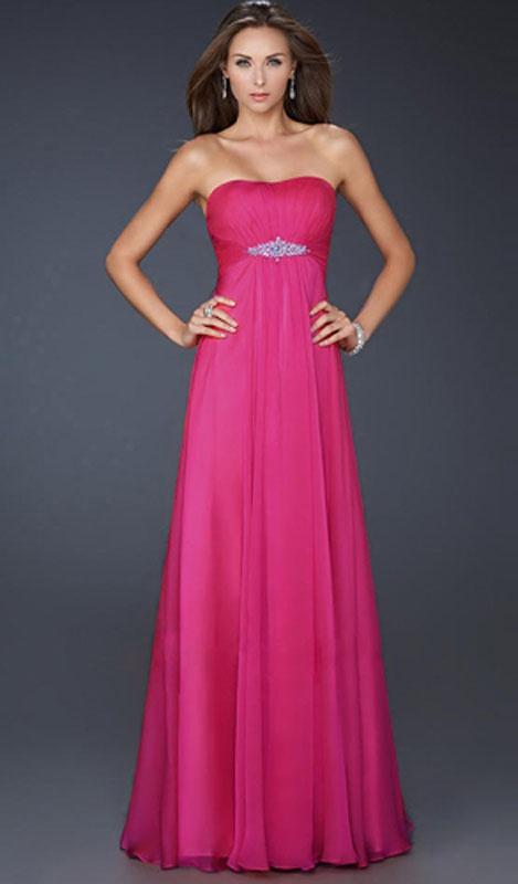 Ružové dlhé korzetové šaty 178b cb63eb2c84