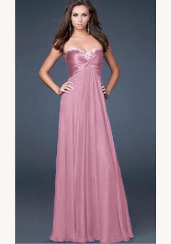 38b0303e2fde Ružové dlhé korzetové šaty 185Ed