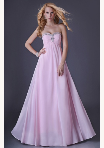 bfc6e15a1a4a Ružové dlhé korzetové šaty s flitrami 241