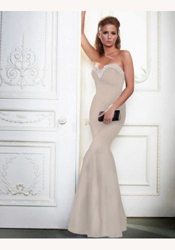 ca8bea7f9c4d Levandulové dlhé korzetové šaty morská panna 247LP