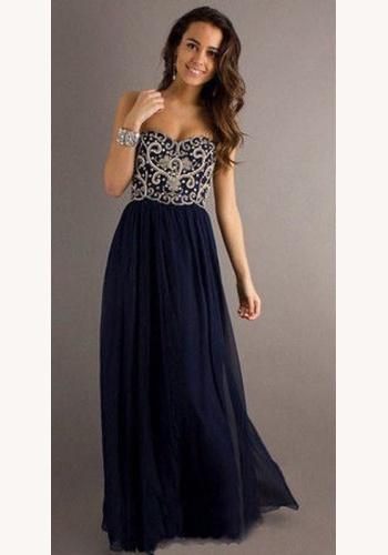 b2f541b00427 Čierne dlhé korzetové šaty s perličkami 322