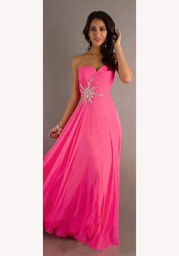 Ružové dlhé korzetové šaty 327 a08e19931c1