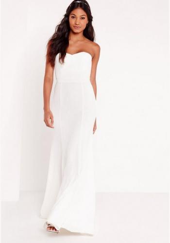 ae626180308a Biele dlhé svadobné korzetové šaty morská panna 210