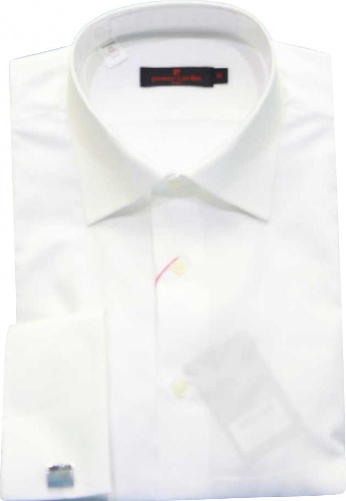 22c919557068 Pierre Cardin biela košeľa formal s manžetovými gombíkami 056PC ...
