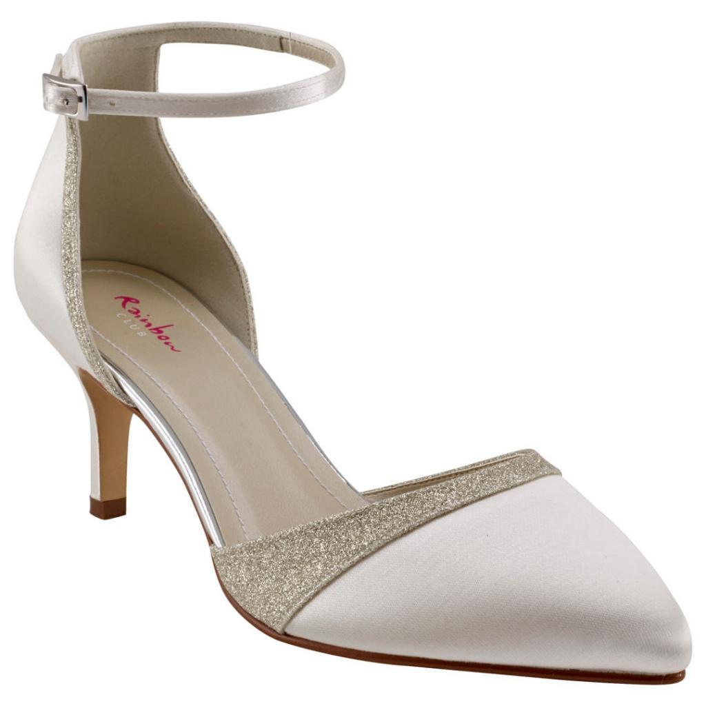 be40a34771 Smotanové svadobné topánky 055 - Salón Emily