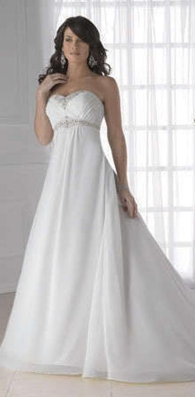 e181ff211f6 Biele dlhé svadobné korzetové šaty 077