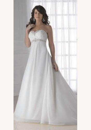 076d86f19122 Biele dlhé svadobné korzetové šaty 077
