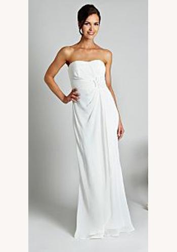 9297f3d2d614 Biele dlhé svadobné korzetové šaty 102