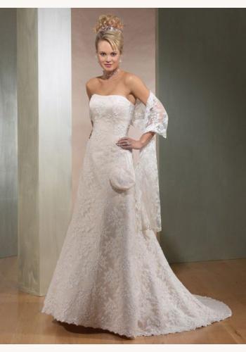 363a6bee07c9 Biele dlhé svadobné korzetové čipkované šaty 117