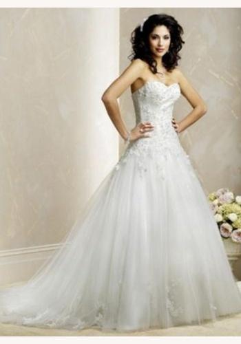 fc195a27771a Biele dlhé svadobné korzetové šaty 131