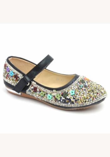 2d3c1c2df Čierne diamantové topánky 031E