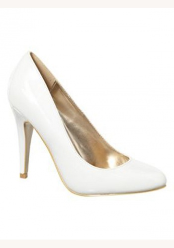 8f1c84bd21 Smotanové svadobné saténové topánky na vysokom opätku 047