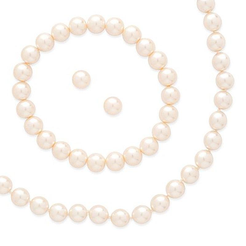 653aff012 Ružový perlový set náhrdelník s náušnicami a náramkom 059 - Salón Emily