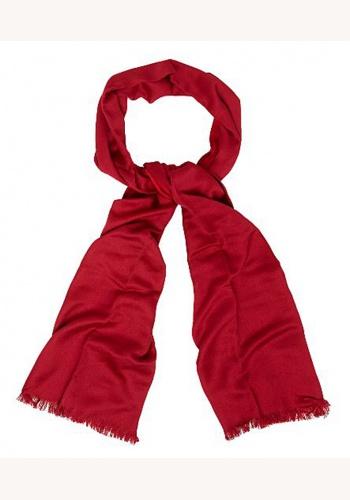 Červená bavlnená pašmina 011 2cd81d4d25