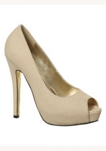 5c126fd12b Béžové topánky vpredu otvorené na vysokom opätku 023