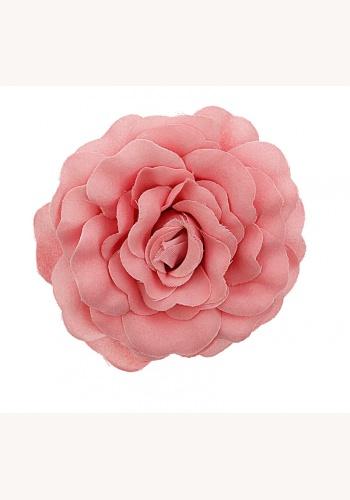 Ružový látkový kvet do vlasov 008 7ea5e55d9f6